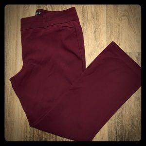 7th Avenue New York & Co. | Burgundy Pant